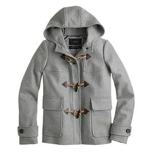 JCREW wool classic duffel coat - XS